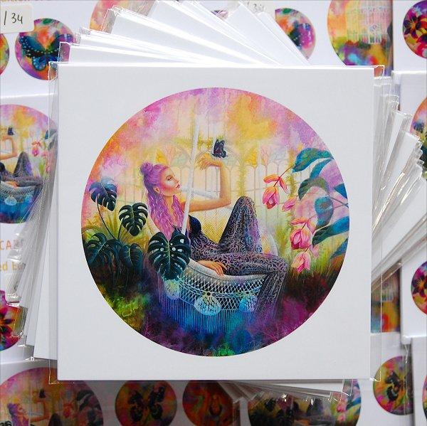 The Secret garden Card Set (4)