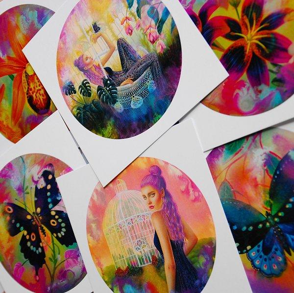 The Secret garden Card Set (2)