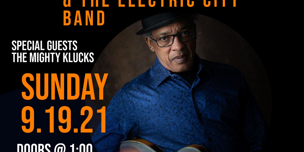 BSCP Presents: Clarence Spady & The Electric City Band with Special Guests the Mighty Klucks