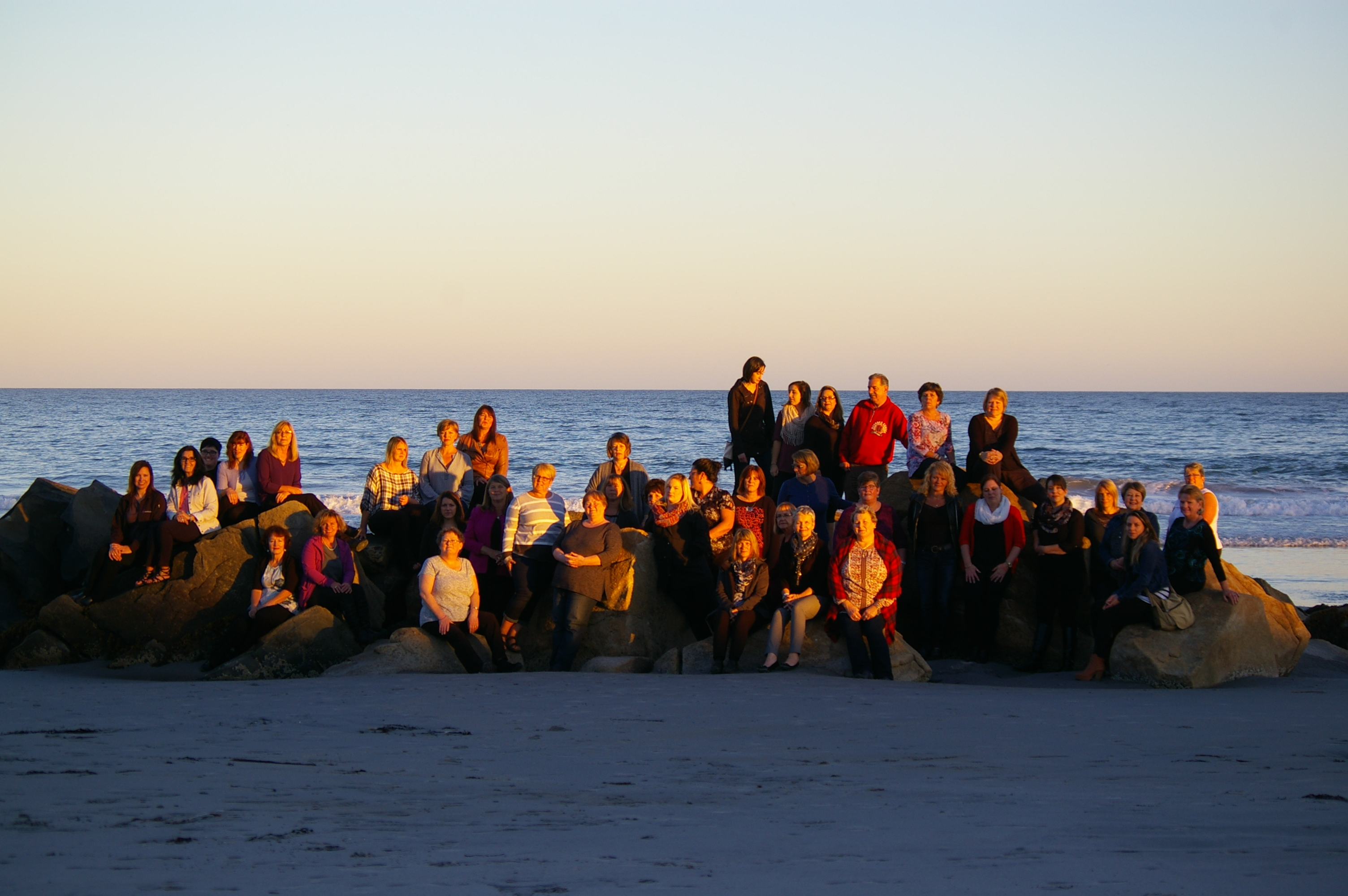 2016 AMTC Group - on the beach