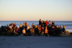 2016 AMTC Group - on the beach