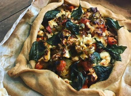 Empanada rústica de verduras