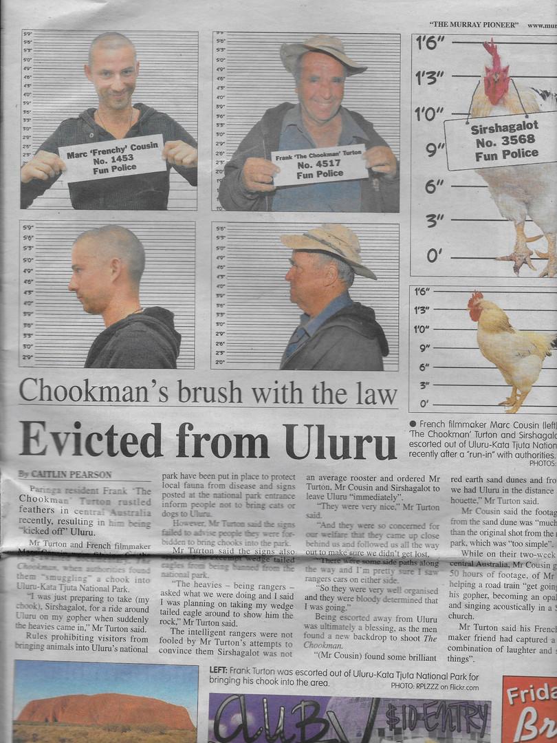 Chook evicted.jpeg