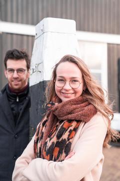 Portret Willemijn en Nathanaël Middelkoop Urk 4