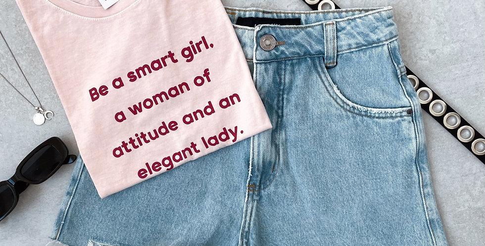 T-SHIRT SMART GIRL