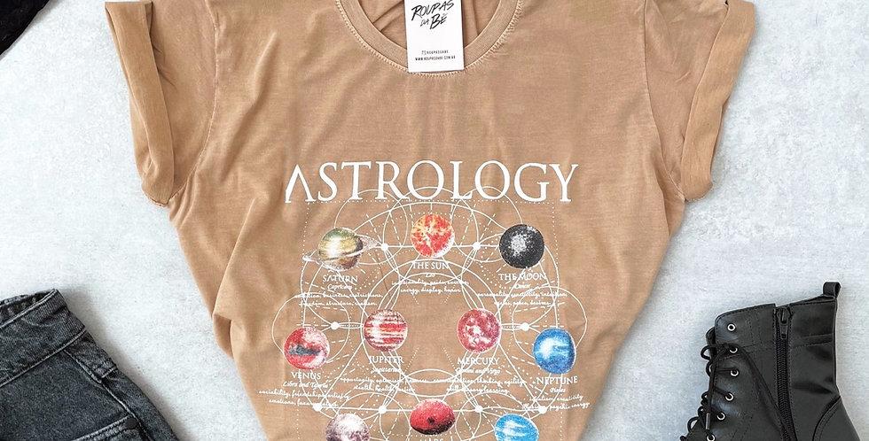 T-SHIRT ASTROLOGY PALHA
