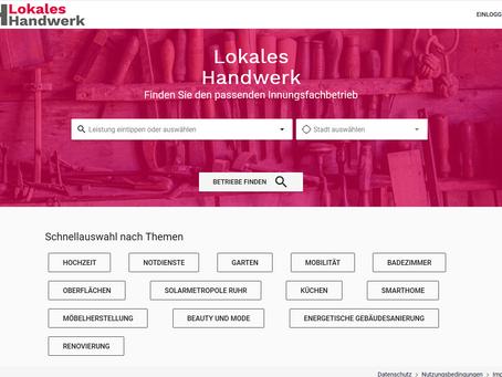 Handwerk 4.0: Neue Internetplattform für lokales Handwerk