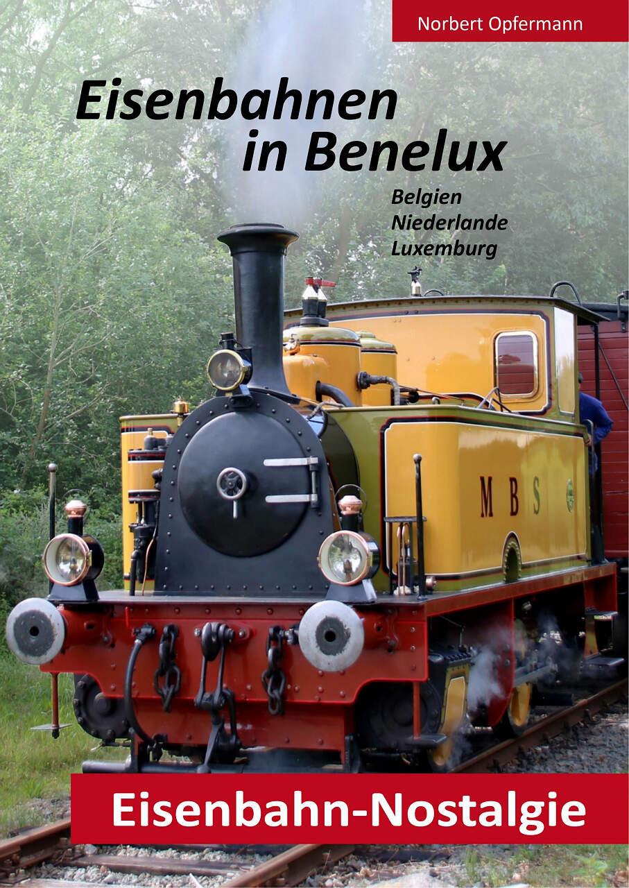 Buchcover von Eisenbahnen in Benelux