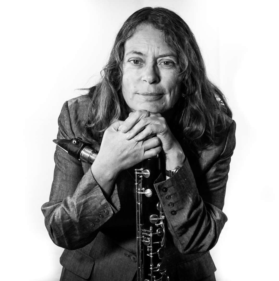 Karen Wimhurst Bass Clarinet Forward (BW)