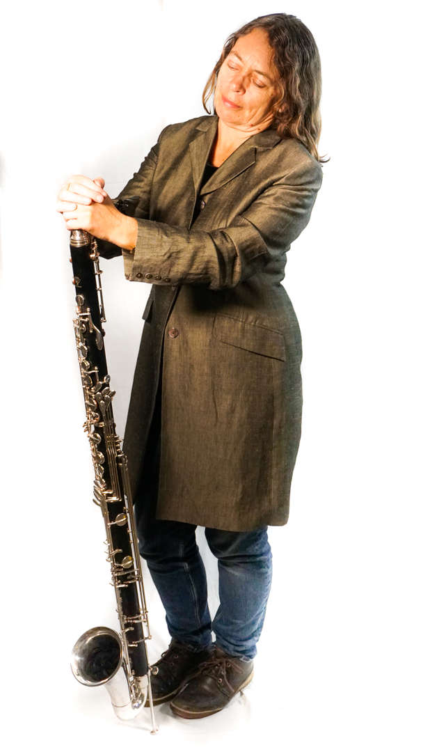 Karen Wimhurst Bass Clarinet Left