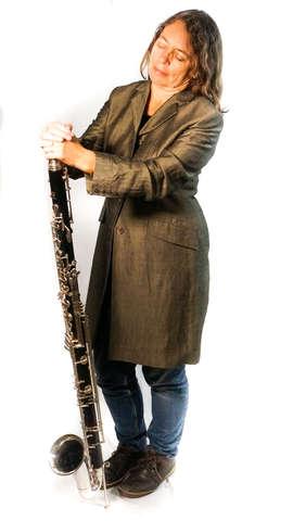 Karen Wimhurst Bass Clarinet Left