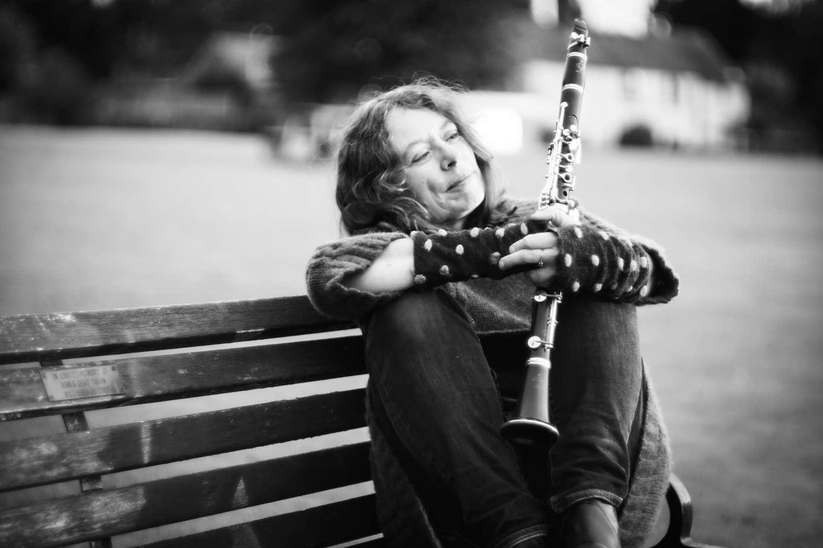 Karen Wimhurst Clarinet Bench (BW)