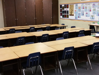 Looking forward to the classrooms