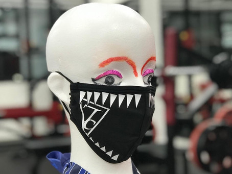 KIBAマスク登場!