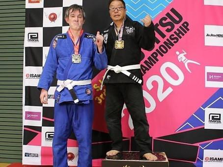 会員さんがブラジリアン柔術の大会で優勝しました。
