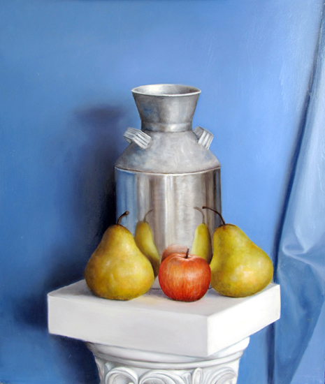 """""""Canister With Fruit"""""""