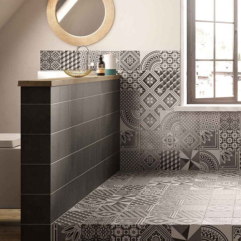 Small Dark Grey Matt Wall & Floor 148mm x 148mm x 9mm