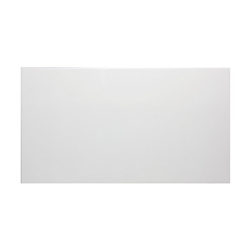 White Gloss Wall  248mm x 498mm x 8mm