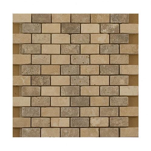 Beige Stone Mosaic  305mm x 305mm x 10mm