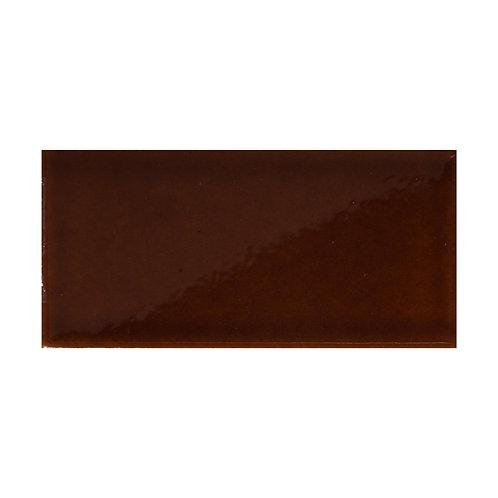 Teapot Brown Gloss Wall  152mm x 76mm x 8mm