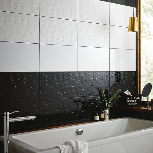 Black Gloss Wall  298mm x 498mm x 9.7mm