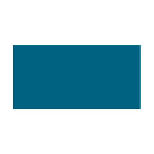 Teal Gloss Wall  200mm x 100mm x 9mm