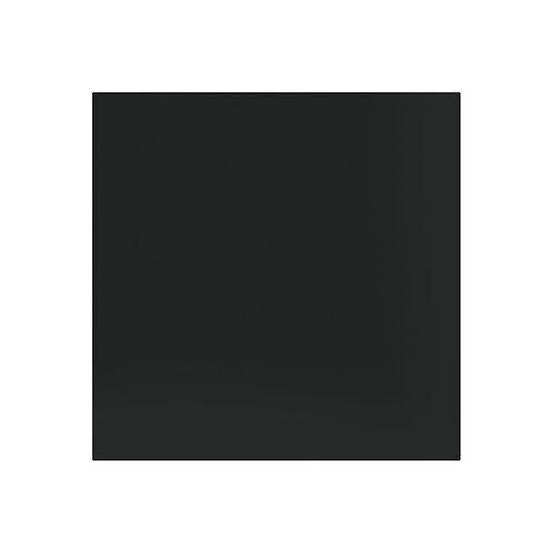 Plain Black Matt Floor  498mm x 498mm x 10mm