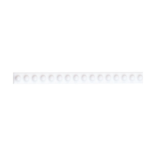 White Dot Border  152mm x 12mm x 8mm
