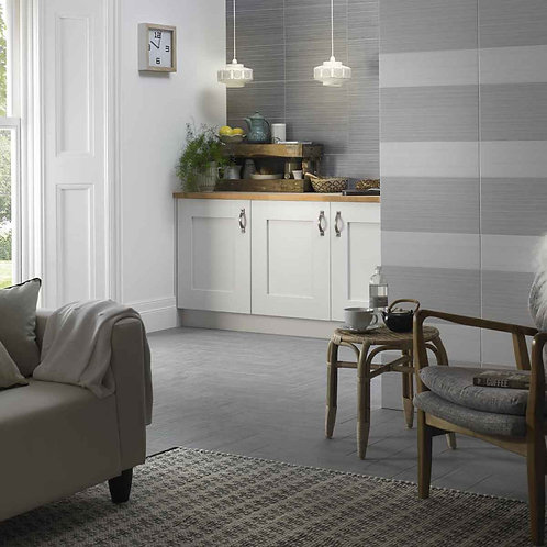 Cloud White Matt Wall & Floor  148mm x 498mm x 8.7mm