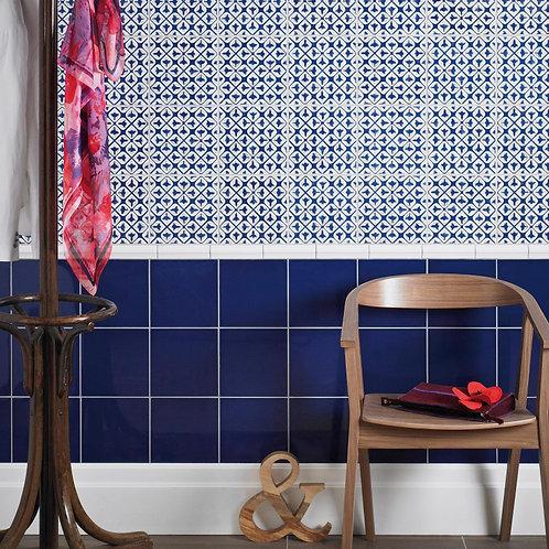 Cobalt Gloss Wall  152mm x 152mm x 8mm