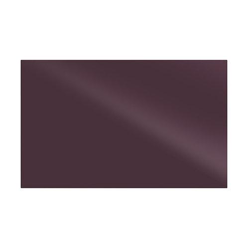 Plain Plum Gloss Wall  248mm x 398mm x 8mm