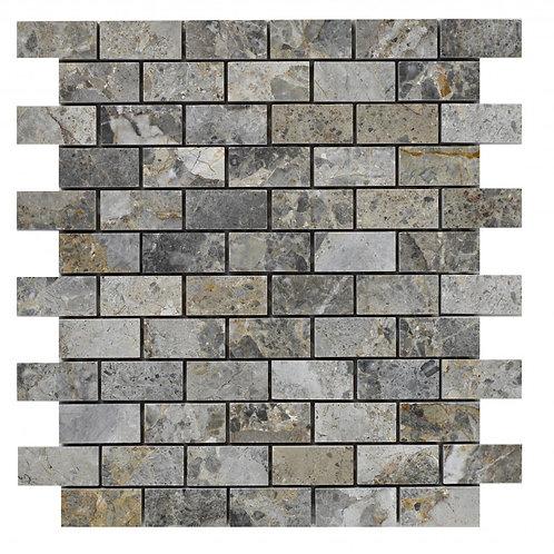 Lemon Marble Brick Mosaic  300mm x 300mm x 10mm