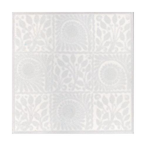 White Gloss Wall  152mm x 152mm x 8mm
