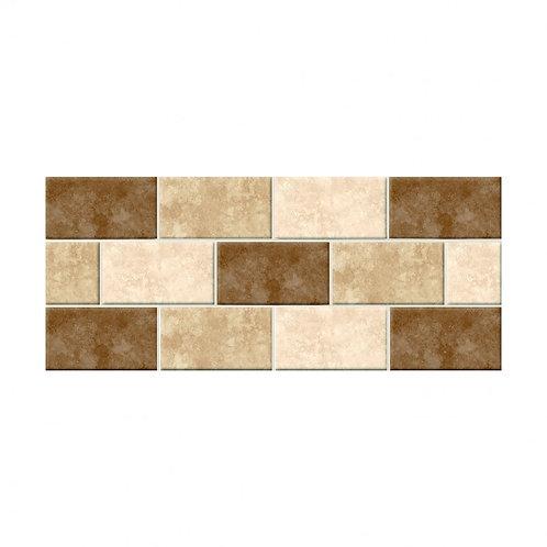 Faux Mosaic Gloss  248mm x 498mm x 9mm