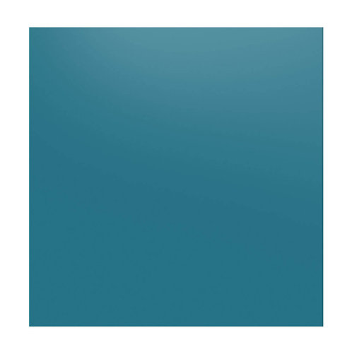China Blue Glass Splashback  600mm x 750mm x 6mm