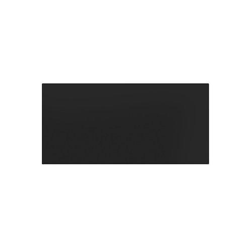 Plain Matt Black Wall  248mm x 498mm x 8.5mm  Status: