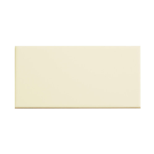 Cream Plain Gloss Wall  152mm x 76mm x 8mm