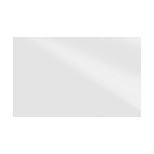 Plain White Gloss Wall  248mm x 398mm x 8mm