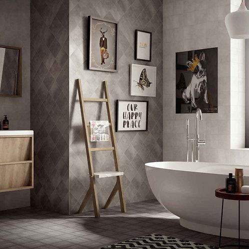 Small Light Grey Matt Wall & Floor 148mm x 148mm x 9mm