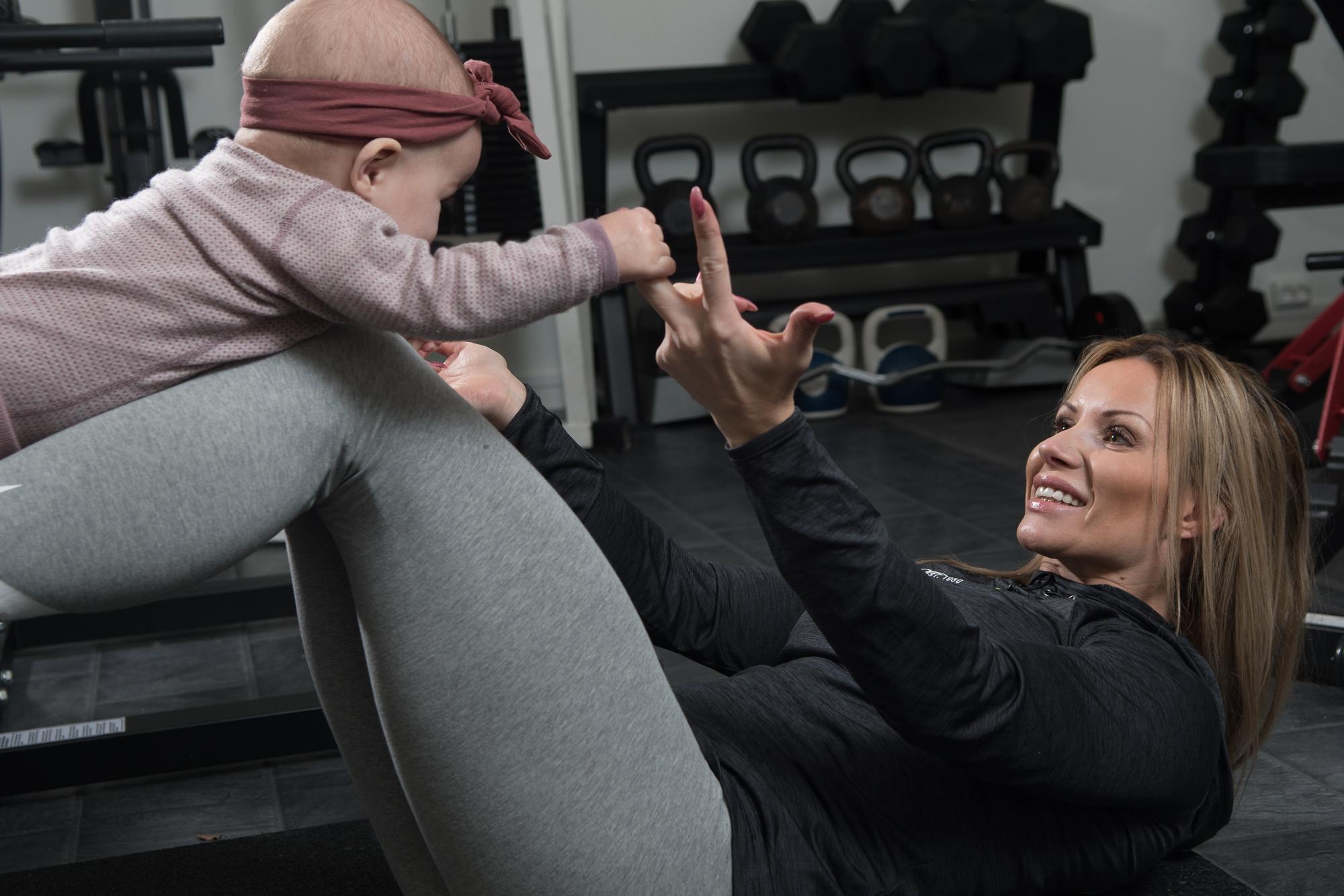 Trening mor og barn