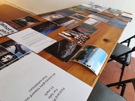 Invigilation of Exhibition Space and Selling Prints