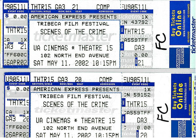 dominique forma tribecca tickets scenes of the crime