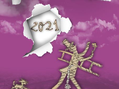 Neuer Kalender für 2021 in Sicht