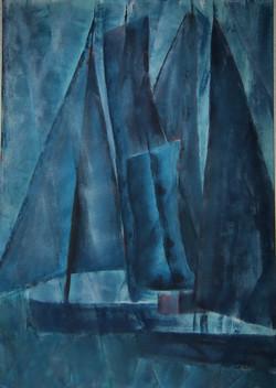 blaue Segel