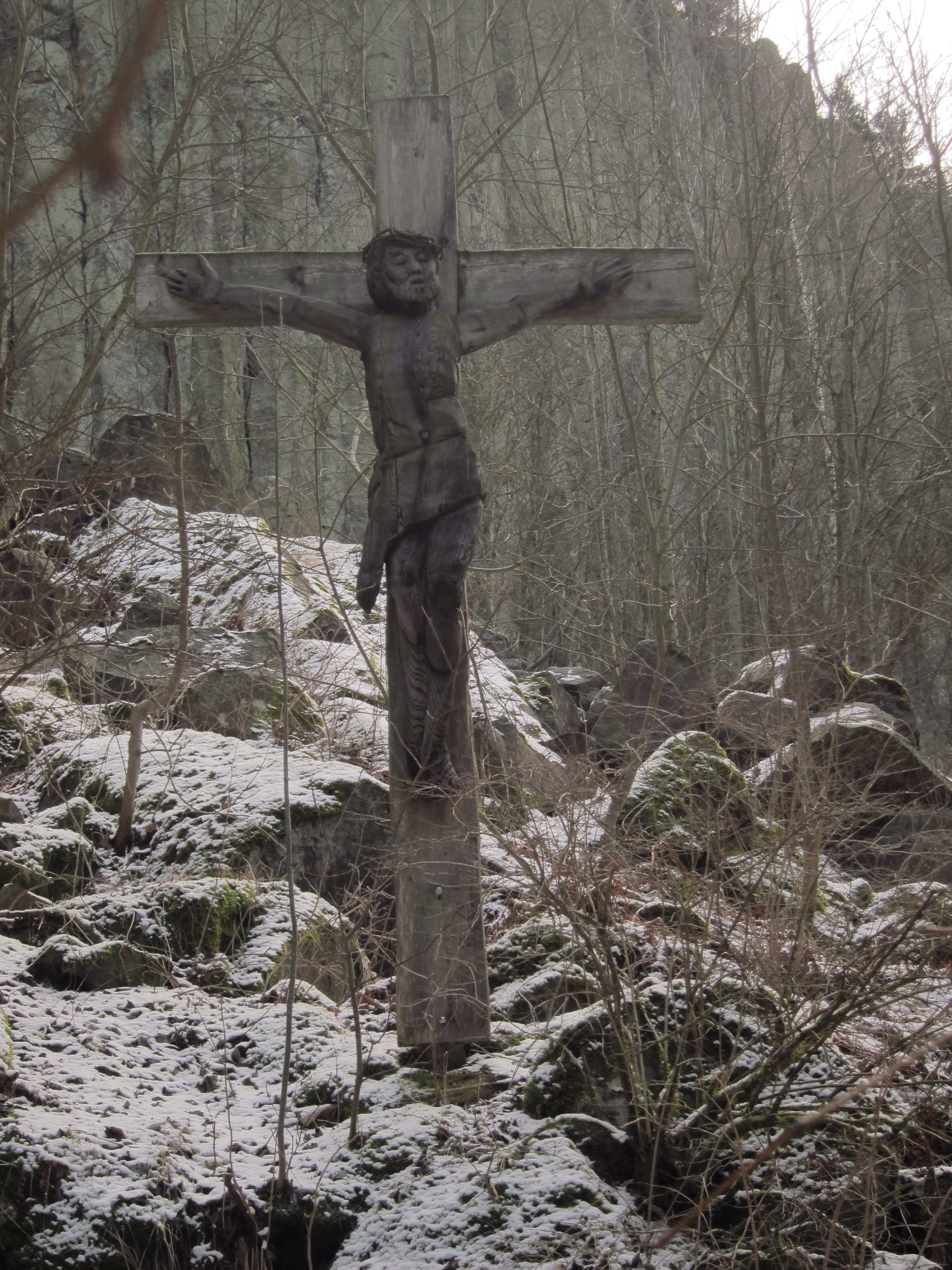 Kreuz im Gebirge