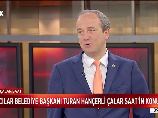 İstanbul Avcılar Belediye Başkanı Sn. Turan HANÇERLİ Ergoterapi Hakkında Bilgiler Verdi.