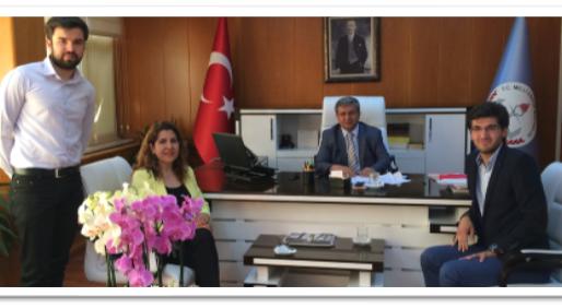 Özel Eğitim ve Rehberlik Hizmetleri Genel Müdürü Celil Güngör Bey ile görüşüldü.