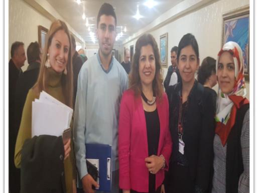Özel Eğitime İhtiyacı Olan Bireylere Verilen Hizmetlerin İyileştirilmesi Çalıştayı'na katıldık.