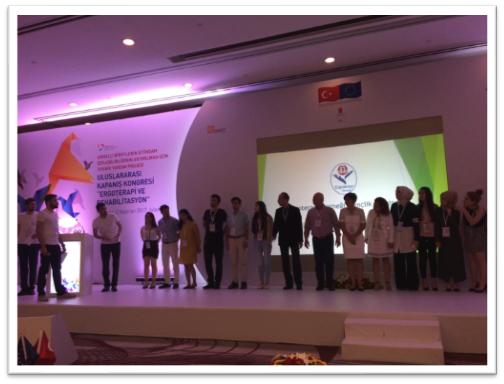 Mesleki Rehabilitasyon Projesi kapsamında kongre düzenlendi.