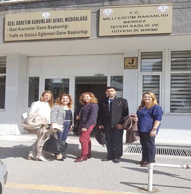 Özel Eğitim ve Rehberlik Hizmetleri Genel Müdürlüğü'nde görüşmeler gerçekleştirildi.